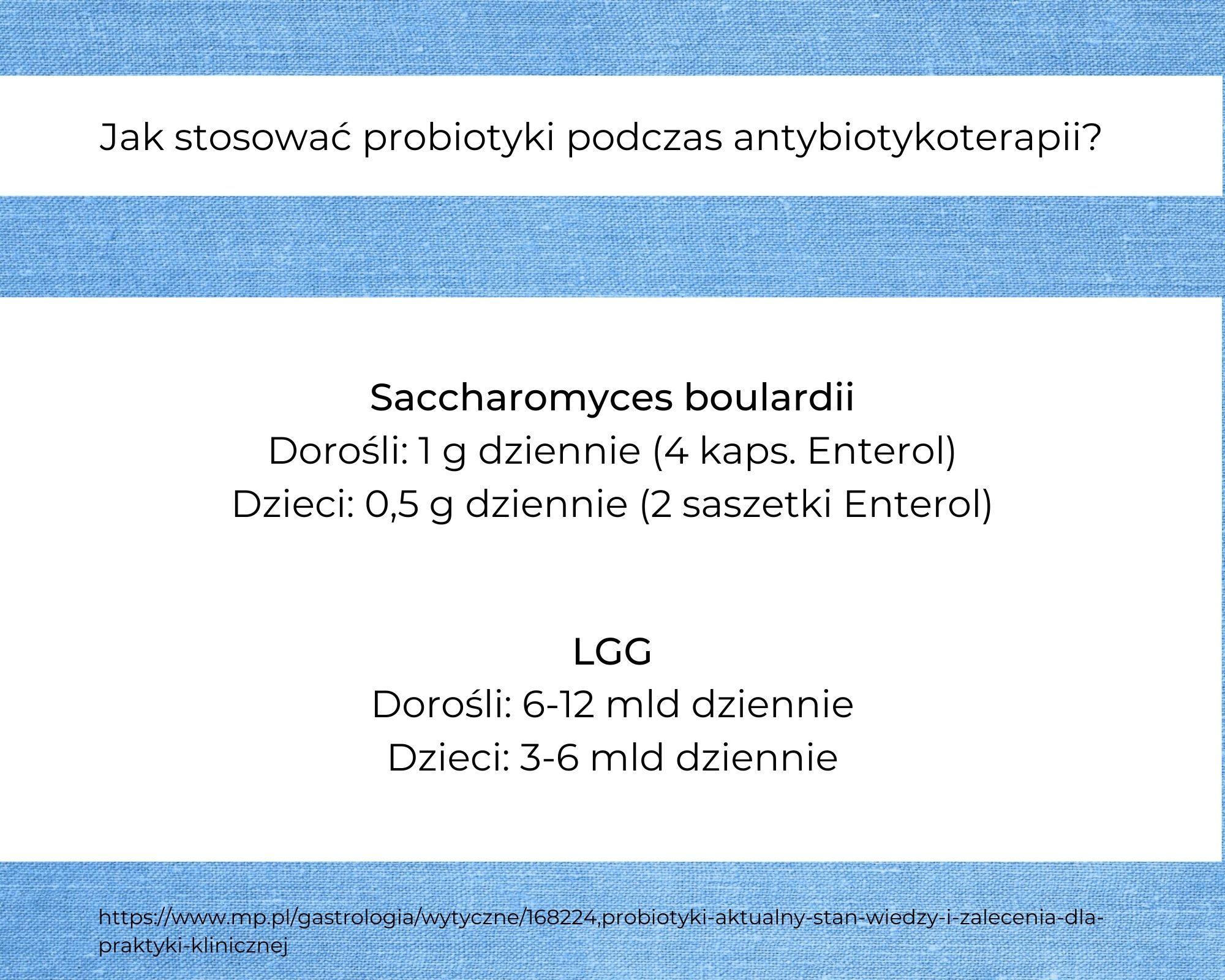 probiotyki do antybiotyku